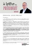 publication Lettre du Président mars 2020